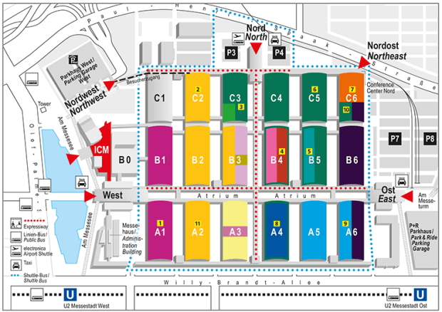 Fairgrounds map of electronica