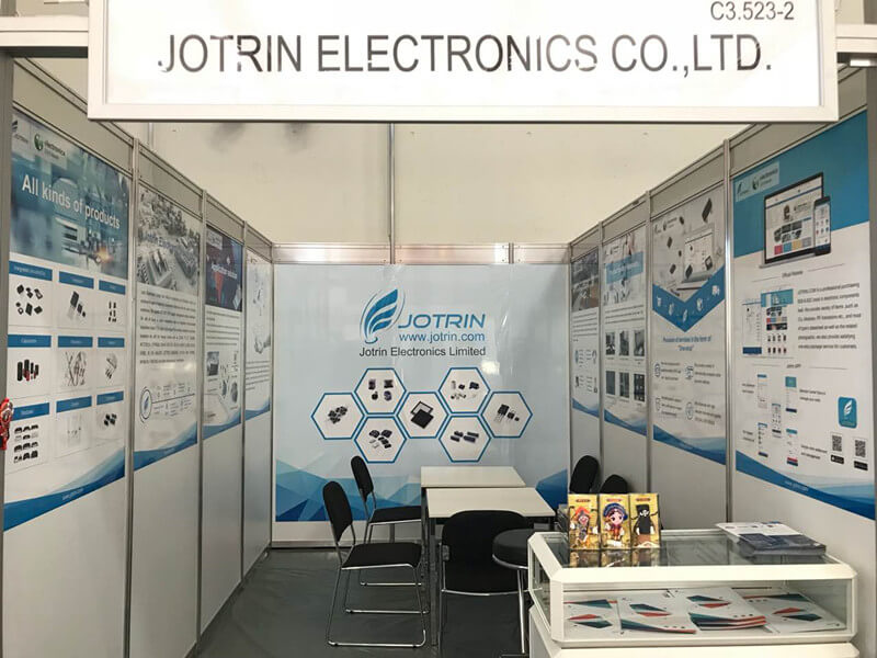 Jotrin Electronics exhibition area map
