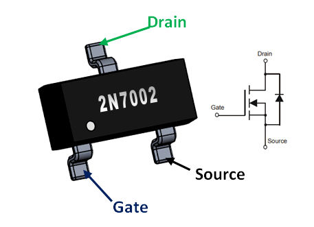 Pin Configuration about 2n7002