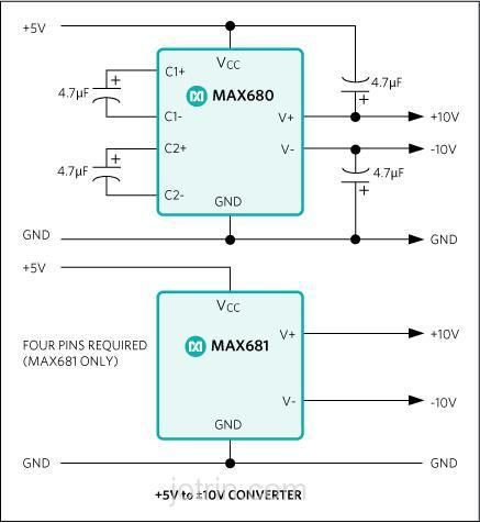 MAX6801UR38D3-T Block Diagram