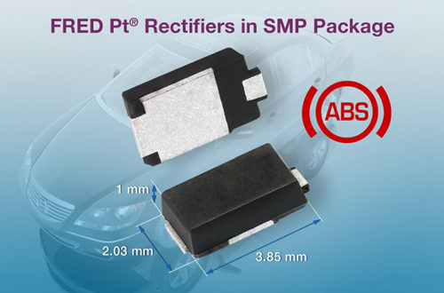 Vishay Introduces New 1 A and 2 A FRED Pt? Rectifiers